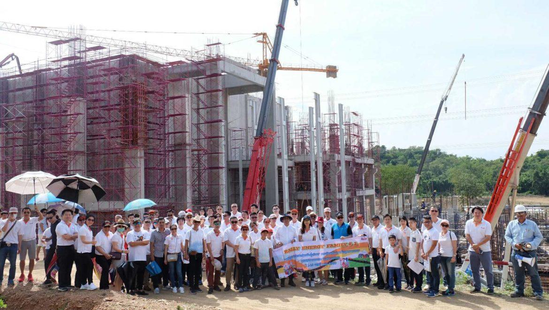 สถาบันพลังงานจัด Rally เยี่ยมชมโครงการของบริษัท เมื่อ 11 พฤศจิกายน 2560