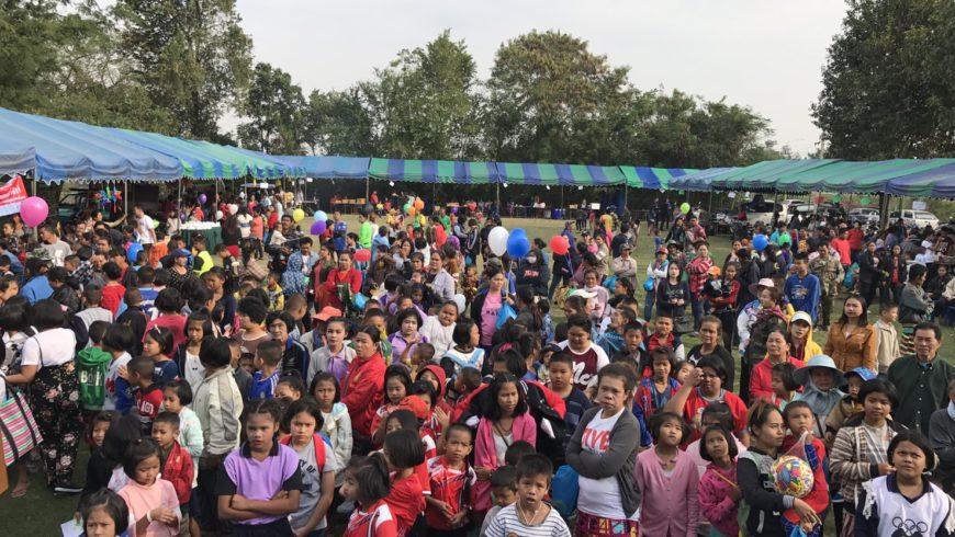 กิจกรรมงานวันเด็กที่เทศบาลตำบลท่าแลง 13 มกราคม 2561